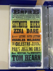 Tom Hearn & Paul's Juggling Girls at the Sunderland Empire Poster - From the Tyne & Wear Archive
