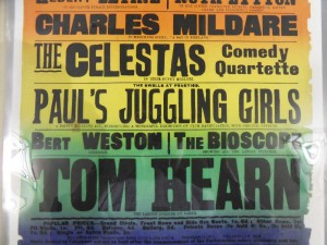 Tom Hearn & Paul's Juggling Girls at the Sunderland Empire Poster (Detail) - From the Tyne & Wear Archive