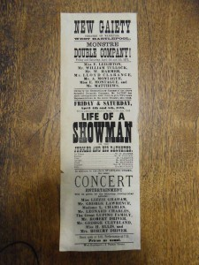 Life of a Showman 4 April 1873 - From the Tyne & Wear Archives