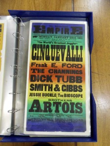 Cinquevalli at the Sunderland Empire Poster - from the Tyne and Wear Archive