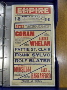 Frank Sylvo at the Sunderland Empire Poster 1923 - From the Tyne & Wear Archive