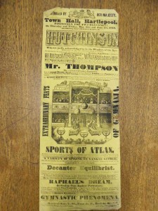 The Brothers Hutchinson poster. From the Tyne and Wear Archives