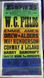 WC Fields at the Sunderland Empire Poster - From the Tyne & Wear Archives