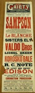 Sisters Korosoko Bale Poster