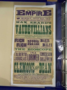 Emerson and Baldwin at Sunderland Empire Poster, 21 July 1913