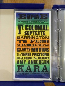Kara at the Sunderland Empire Poster, March 22 1909
