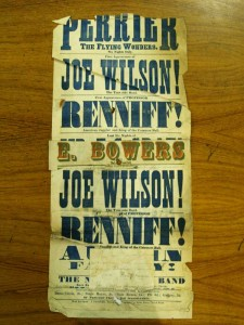 Professor Renniff Poster, around 1873 - From the Tyne & Wear Archives