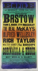 Cornalla & Eddie at Sunderland Empire 5 June 1911 Poster - From the Tyne & Wear Archives
