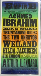 The Great Weiland at Sunderland Empire Poster - From Tyne & Wear Archives