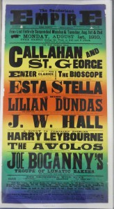 Enzer at Sunderland Empire Poster - From Tyne & Wear Archives